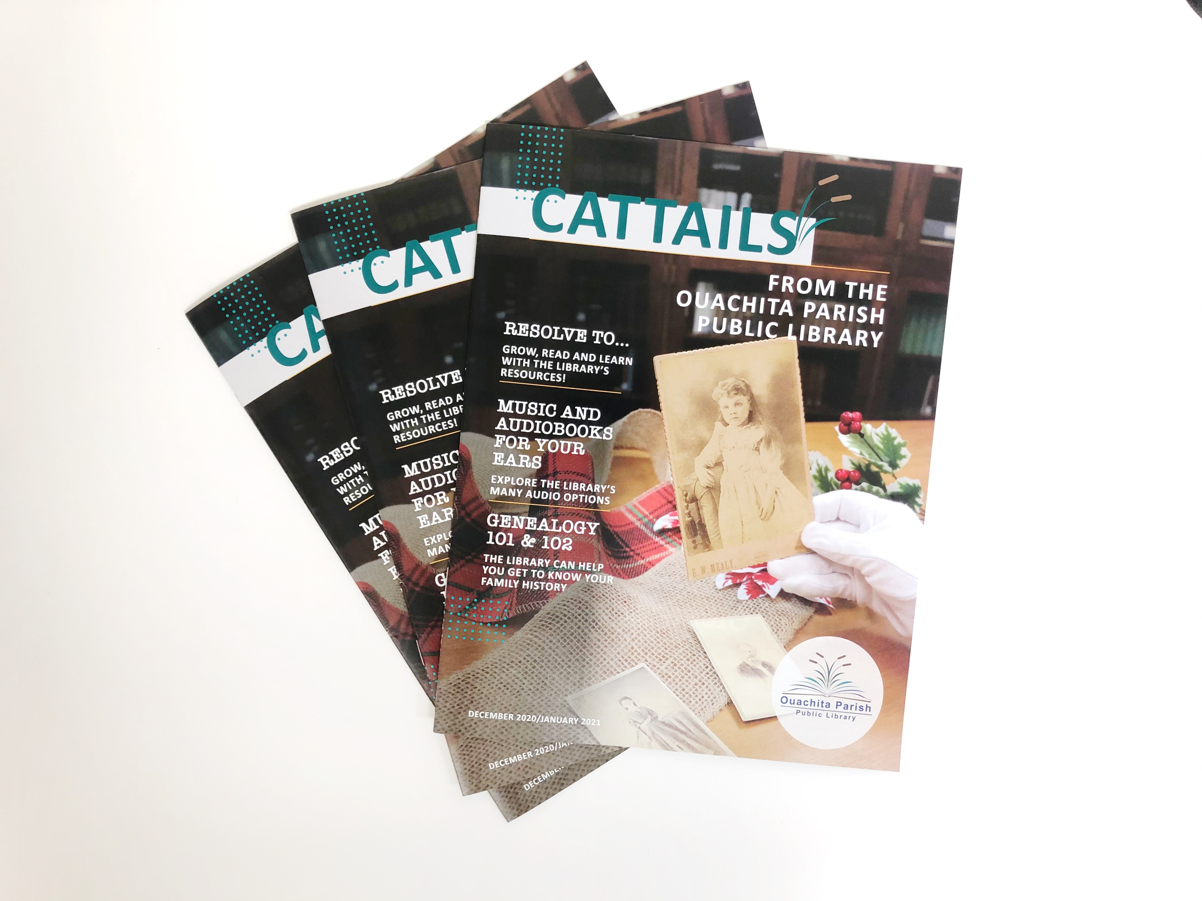 Cattails December/January issue available now